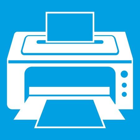 Printer icon white