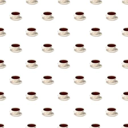 Cup of coffee pattern