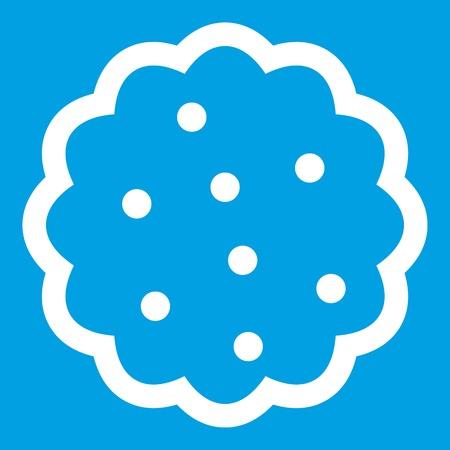 chunk: Cookies icon white