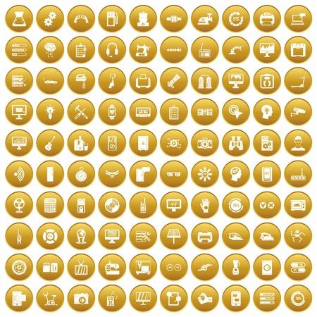 100 set gold