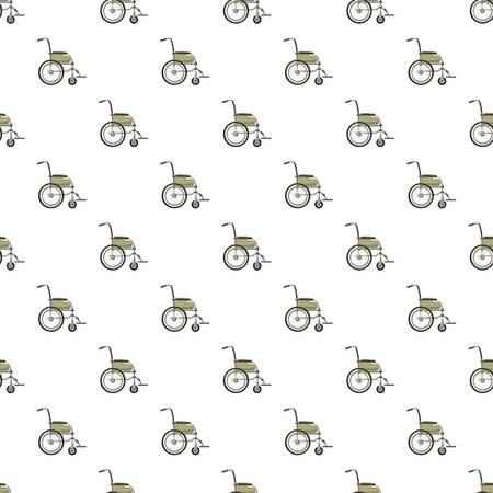 Wheelchair pattern