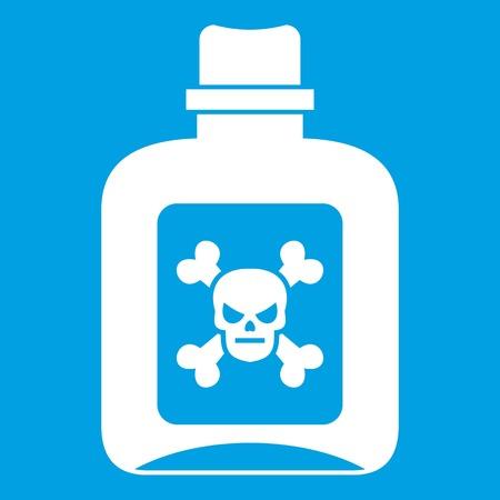 poison: Poison icon white