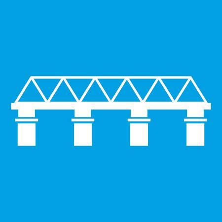 白いブリッジ アイコン