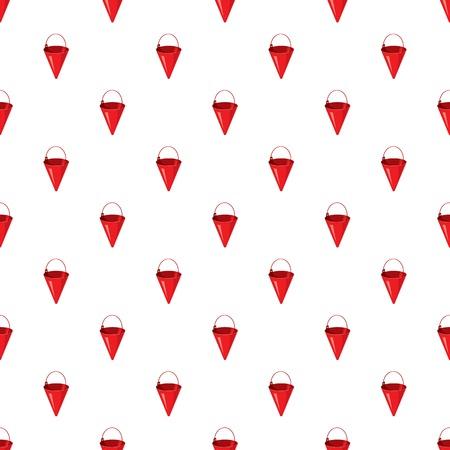 Red fire bucket pattern