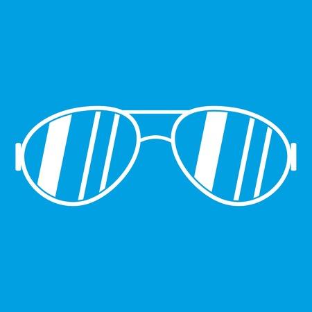 eyewear fashion: Glasses icon white