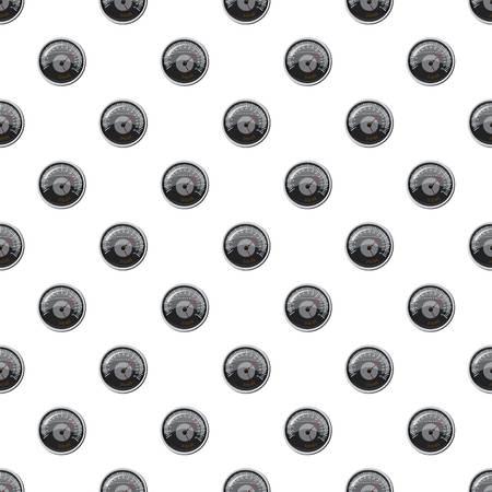 Grey speedometer pattern Illustration