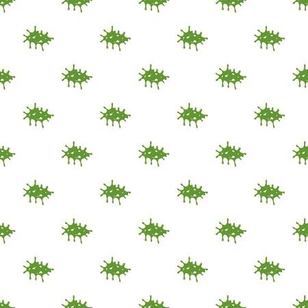 mucus: Splattered mucus isolated on white background Illustration