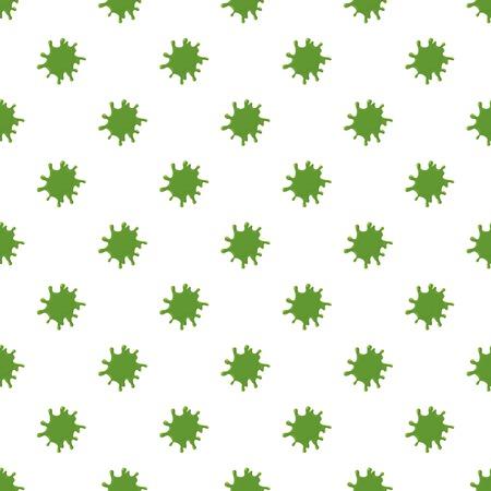 Slime blot isolated on white background.