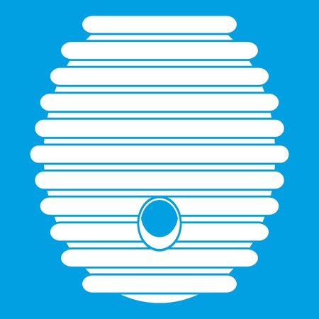 Beehive icon white