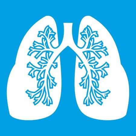 White lungs icon
