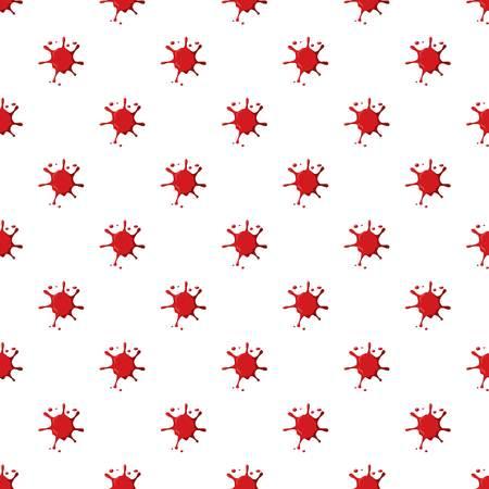 Blood spatter pattern