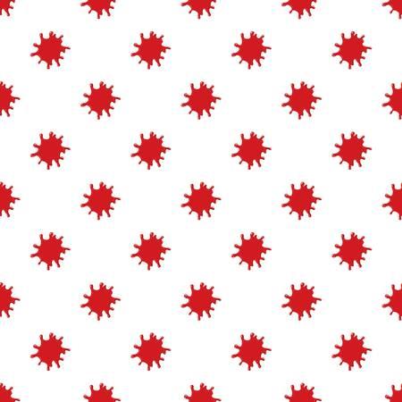 Large pool of blood pattern