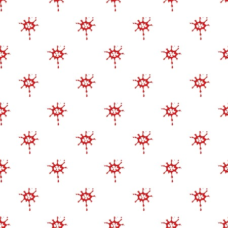 Large drops of blood pattern Illustration