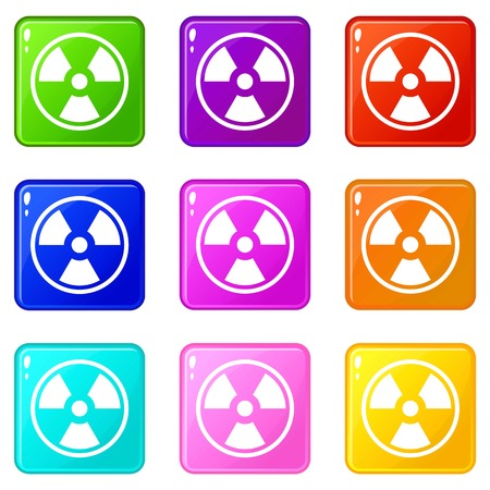 irradiation: Danger nuclear set 9