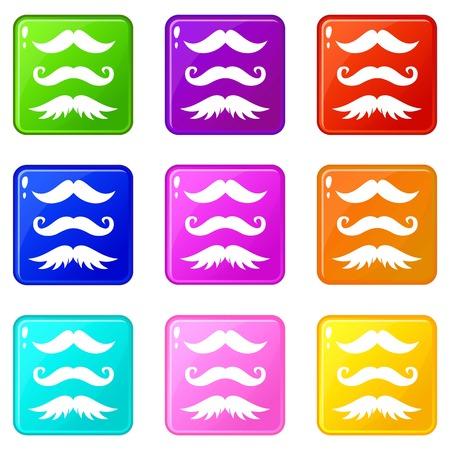 charlie: Moustaches set 9