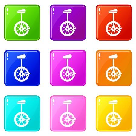 Unicycle set 9