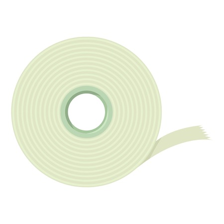 office stapler: Scotch tape icon. cartoon illustration of scotch tape vector icon for web