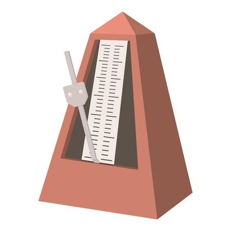 Metronome icon. cartoon illustration of metronome vector icon for web