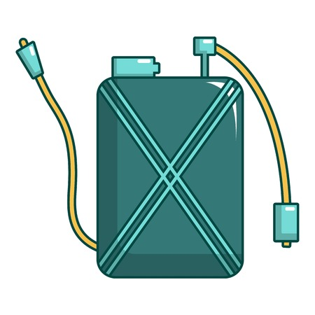 Pulverizer icon. Cartoon illustration of pulverizer vector icon for web design