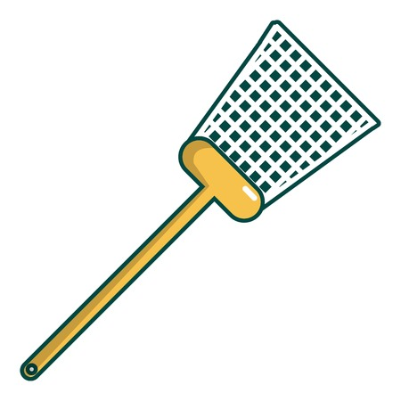 Watter icon. Cartoon illustration of swatter vector icon for web