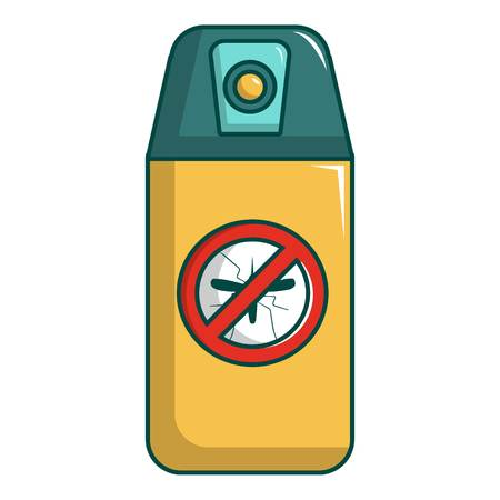 Spray no mosquito icon. Cartoon illustration of spray no mosquito vector icon for web design