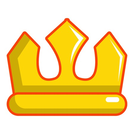 Viscount crown icon. Cartoon illustration of viscount crown vector icon for web design Illustration