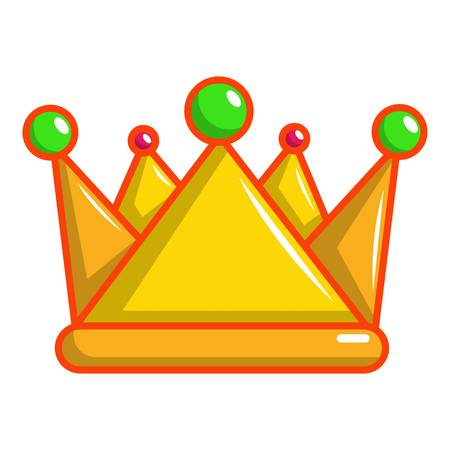 Royal crown icon. Cartoon illustration of royal crown vector icon for web design