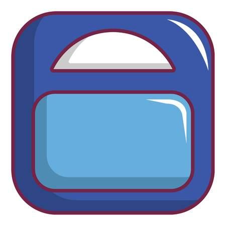 Zwanger gewicht pictogram. Beeldverhaalillustratie van zwanger gewichts vectorpictogram voor Webontwerp Stockfoto - 83066727
