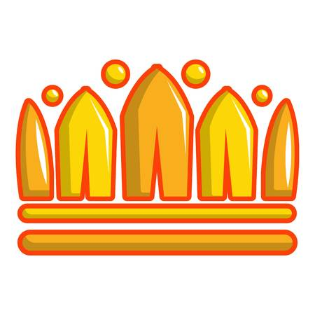 Earl crown icon. Cartoon illustration of earl crown vector icon for web design
