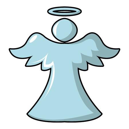 Angel icon. Cartoon illustration of angel vector icon for web design