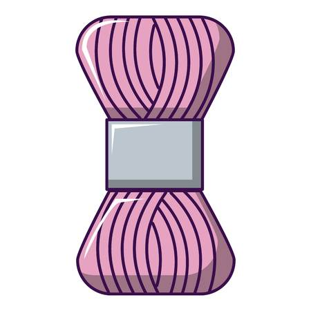Coil of thread icon. Cartoon illustration of coil of thread vector icon for web design Reklamní fotografie - 83067173