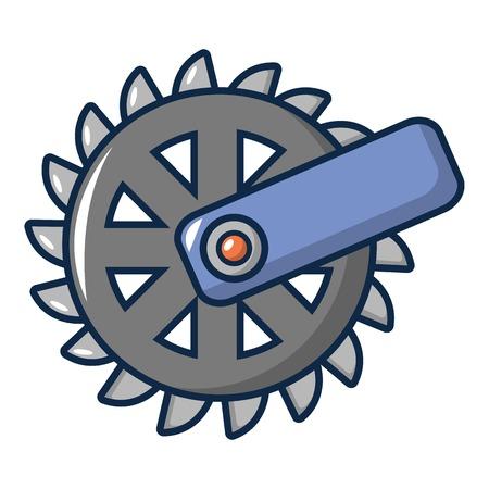 Mining Industry cogwheel icon. Cartoon illustration of mining Industry cogwheel vector icon for web design Illustration