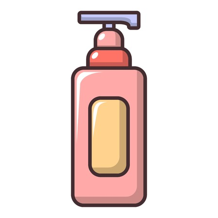 Shampoo icon. Cartoon illustration of shampoo vector icon for web design Illustration