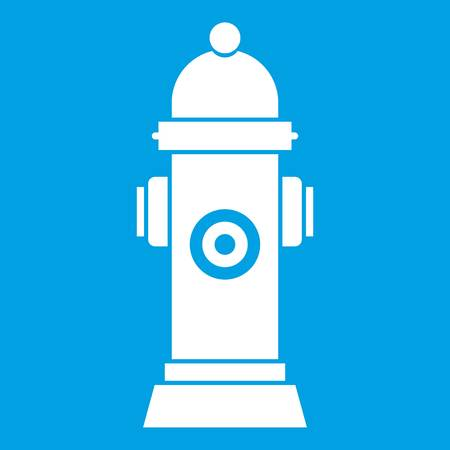 Hydrant icon white