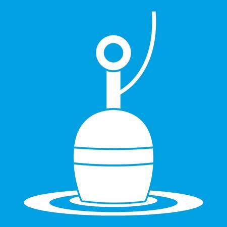 bobber: Floating bobber icon white