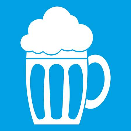 Beer icon white