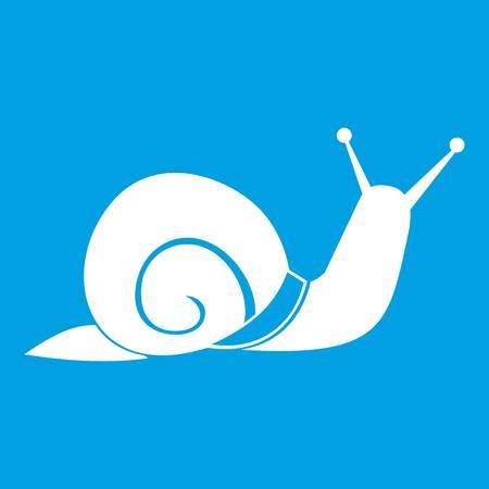 secretion: Snail icon white