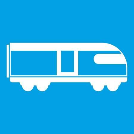 train icon white Illustration