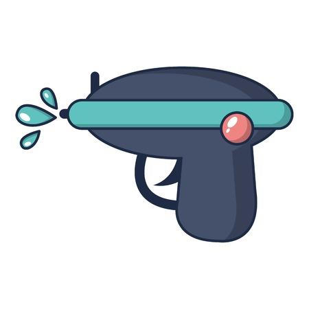 Water gun icon, cartoon style Illustration