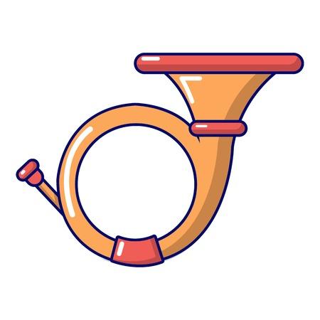 cornet: Cornet icon, cartoon style