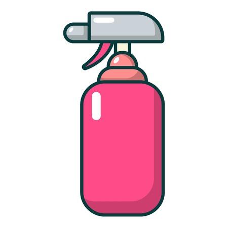 Fire extinguisher icon, cartoon style