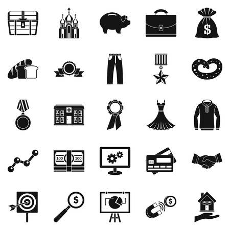 beneficence: Beneficence icons set. Simple set of 25 beneficence vector icons for web isolated on white background