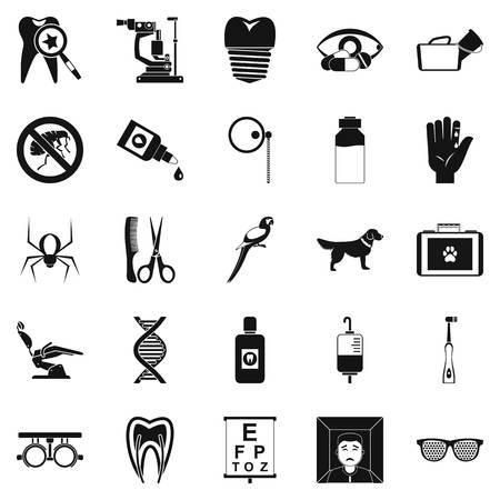 Impostare le icone relative. Semplice set di 25 parenti vettore icone per il web isolato su sfondo bianco