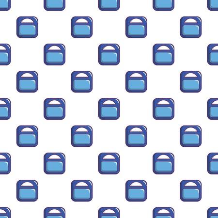 Zwanger gewichtspatroon in beeldverhaalstijl. Naadloze patroon vectorillustratie Stockfoto - 83592700