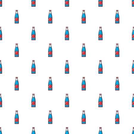 glass reflection: Soda bottle pattern.