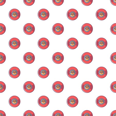 Vinyl record pattern seamless Illustration