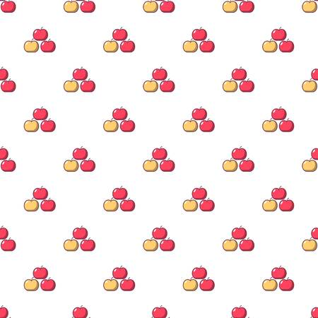Apples pattern seamless