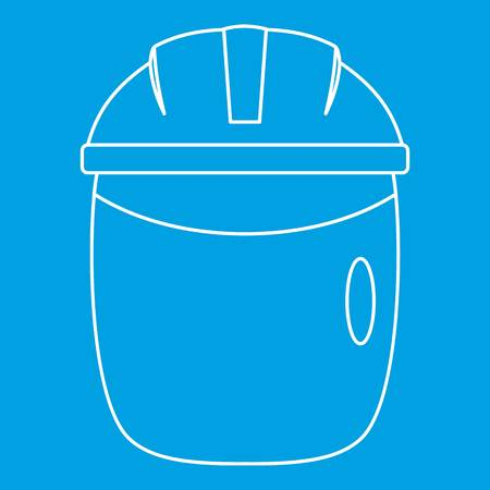 Welding apron icon outline