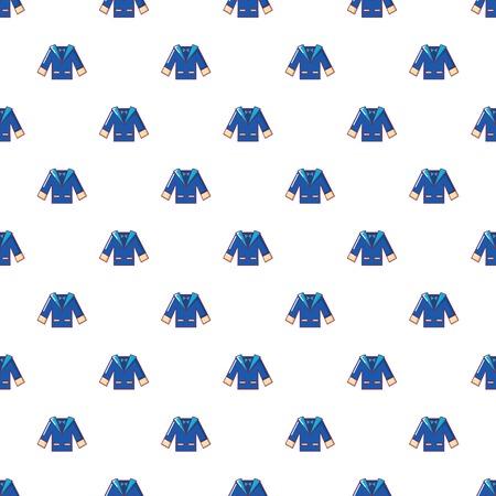 Wedding groom suit pattern in cartoon style. Seamless pattern vector illustration Illustration