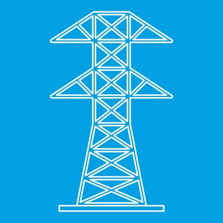 Pictogram van de elektrische toren, Kaderstijl